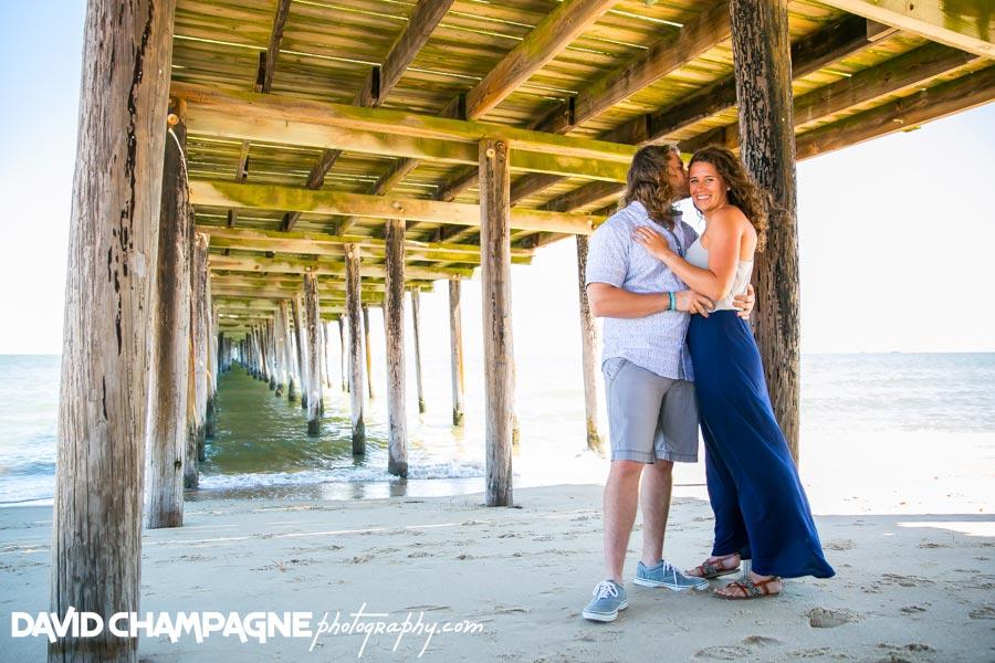 Lynnhaven fishing pier, Virginia Beach engagement photographers