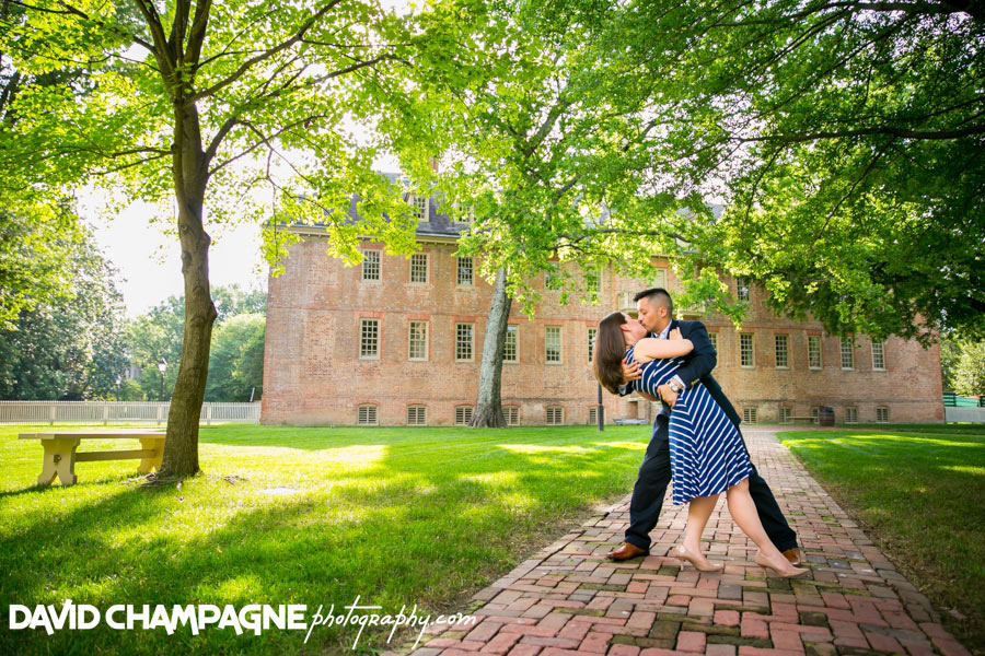 William and Mary engagement photos, colonial williamsburg engagement photos