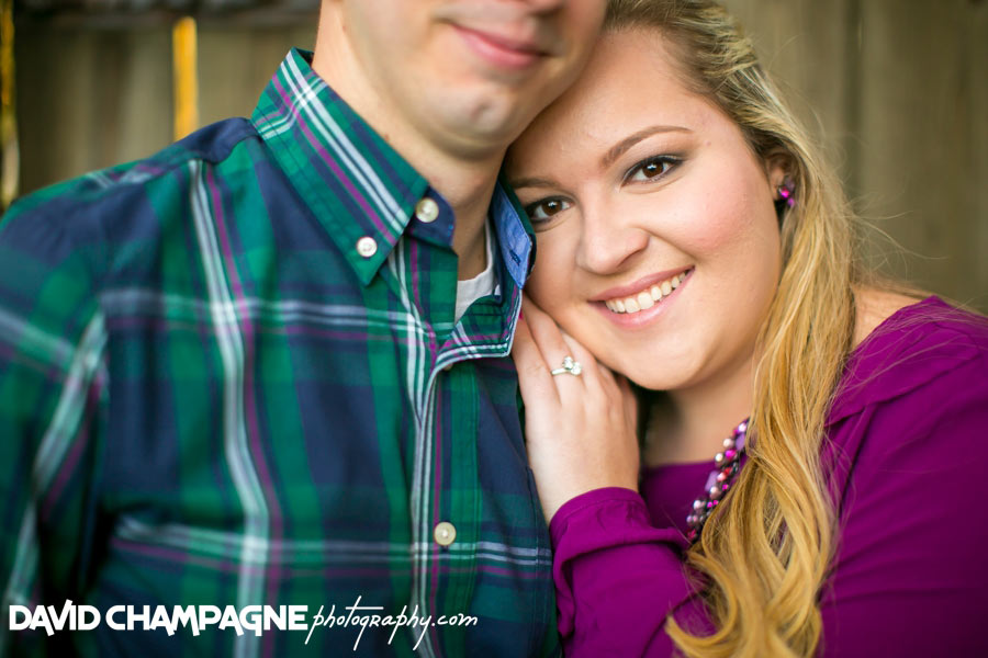 hermitage museum and gardens engagement photos
