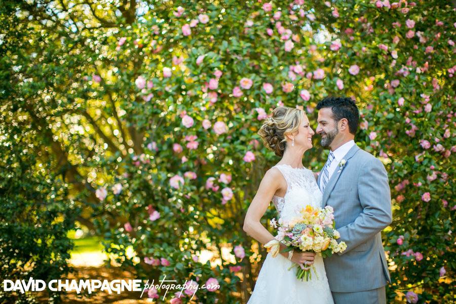 Norfolk Botanical Gardens wedding photos