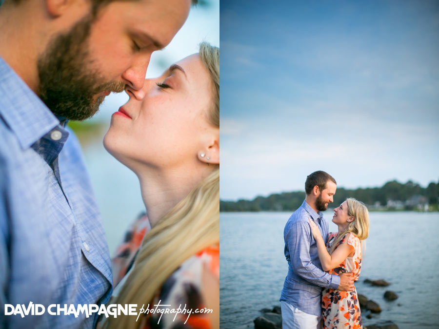 First Landing State Park engagement photos