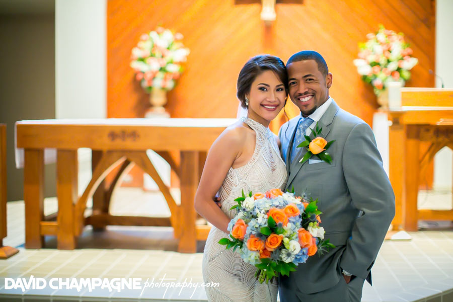 Virginia Beach Star of the Sea Catholic Church wedding photos
