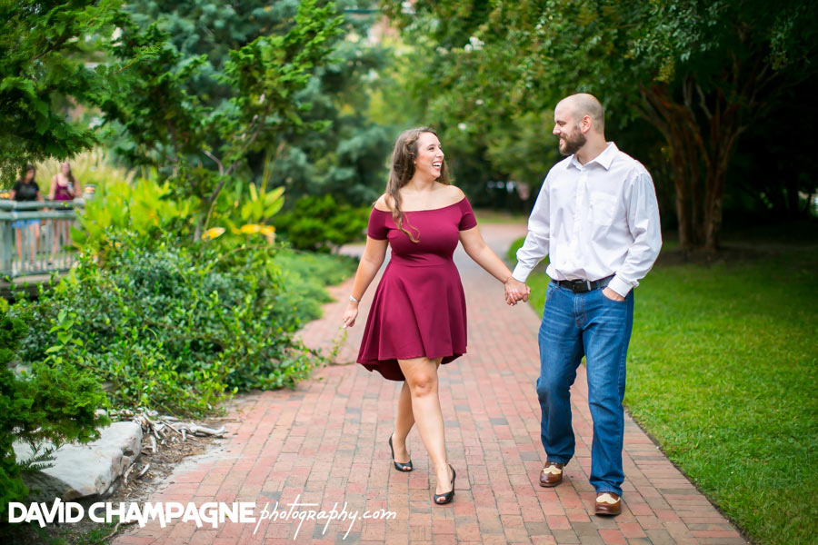 Norfolk Pagoda Garden engagement photos