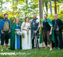 Norfolk Botanical Garden wedding photos, Lord of the Ring themed wedding photos