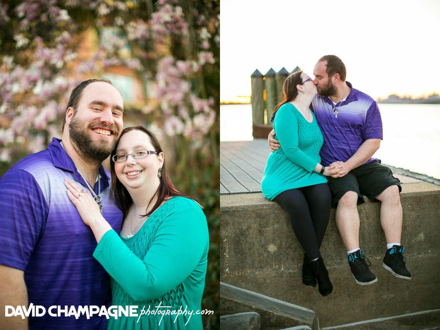 Norfolk Pagoda Garden engagement photos