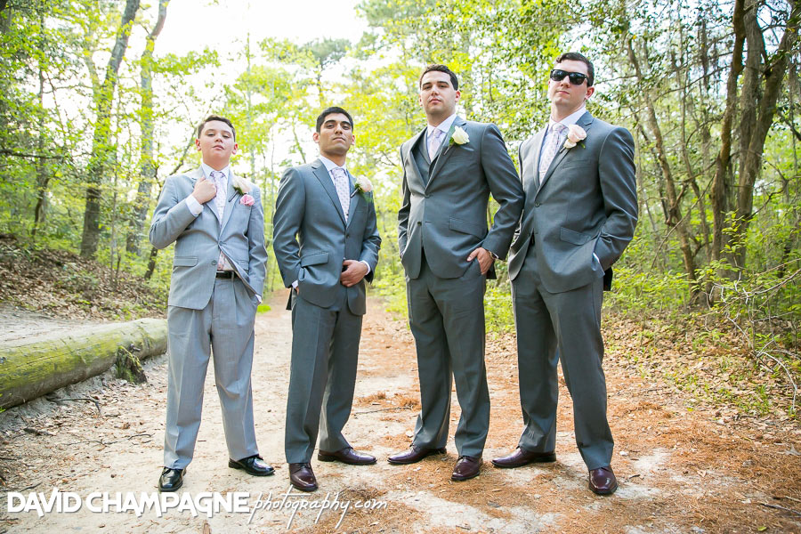 Virginia Beach wedding photographers, first landing state park wedding