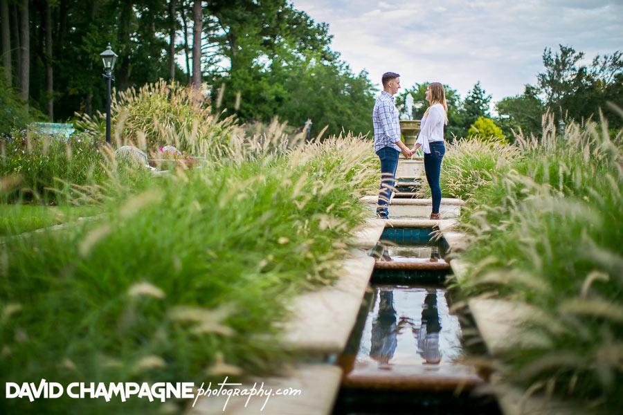 Virginia Beach engagement photographers, Norfolk Botanical Garden engagement photos