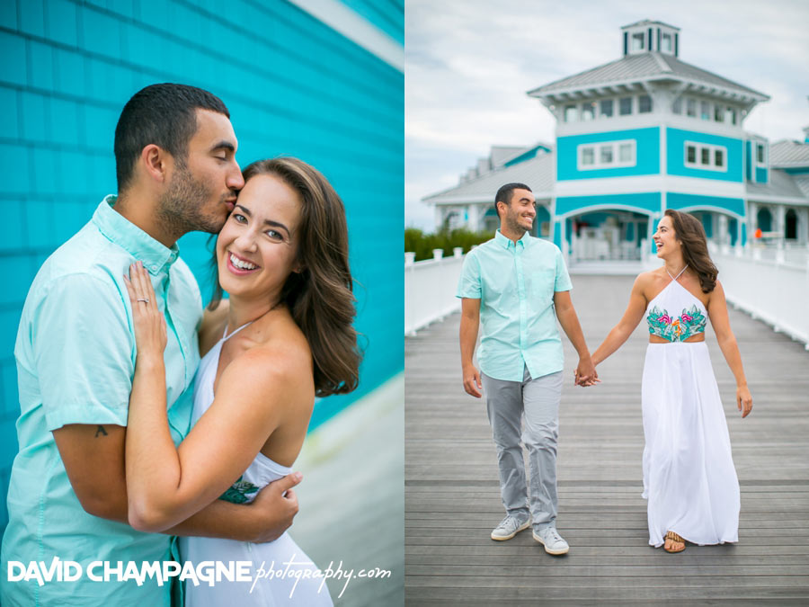 Oyster Farm at Kings Creek Marina engagement photos, Virginia Beach engagement photographers
