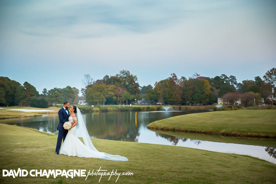 Kiln Creek Golf Club and Resort wedding photos, Virginia Beach wedding photographers