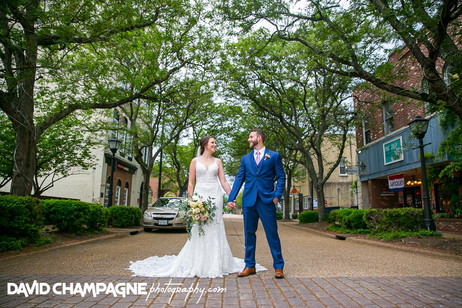 Historic Post Office wedding photos, Virginia Beach wedding photographers