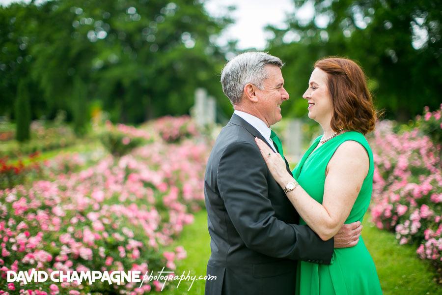 Norfolk Botanical Garden engagement photos