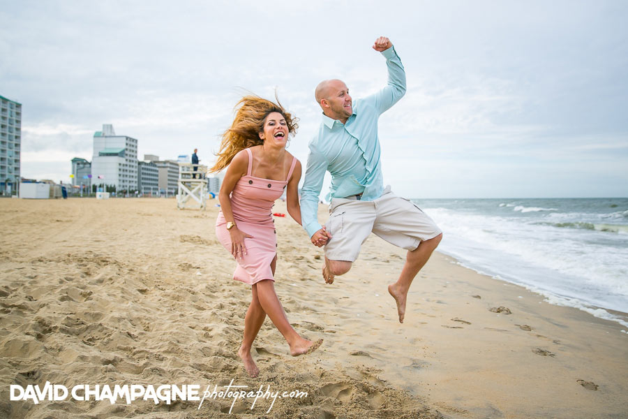 Virginia Beach Oceanfront engagement photos