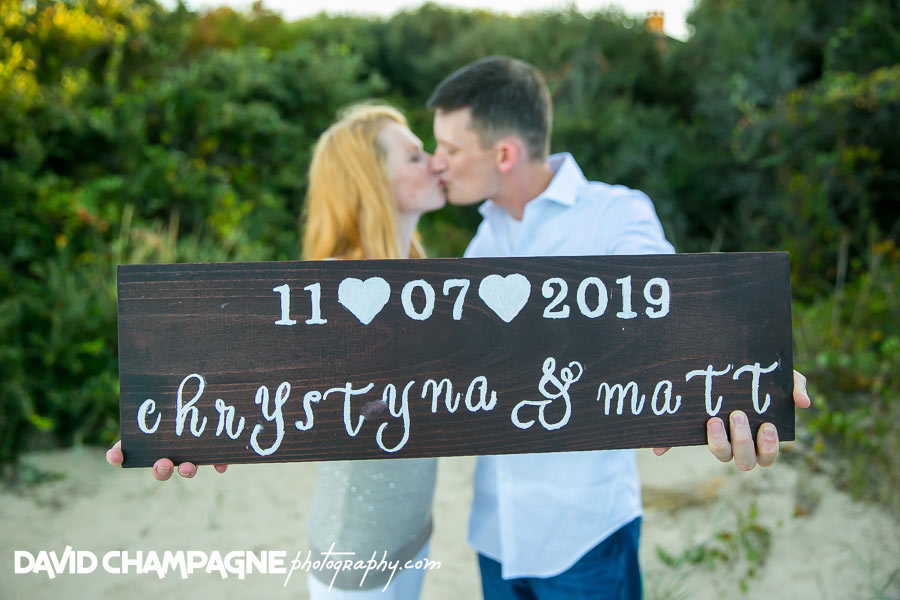 Virginia Beach engagement photographers, oceanfront
