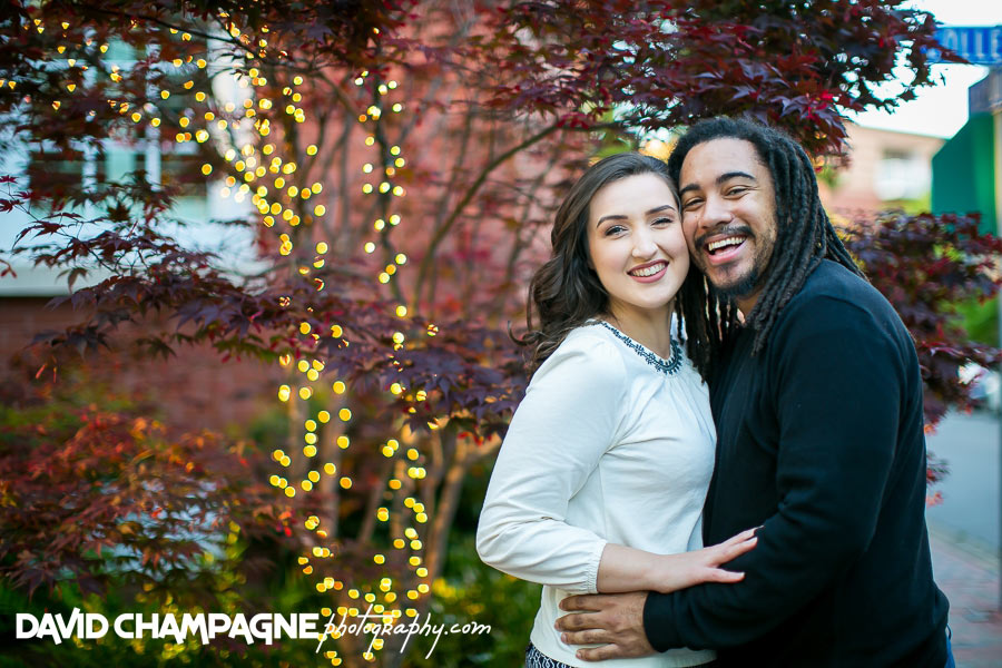 Norfolk Pagoda Garden engagement photos, Virginia Beach engagement
