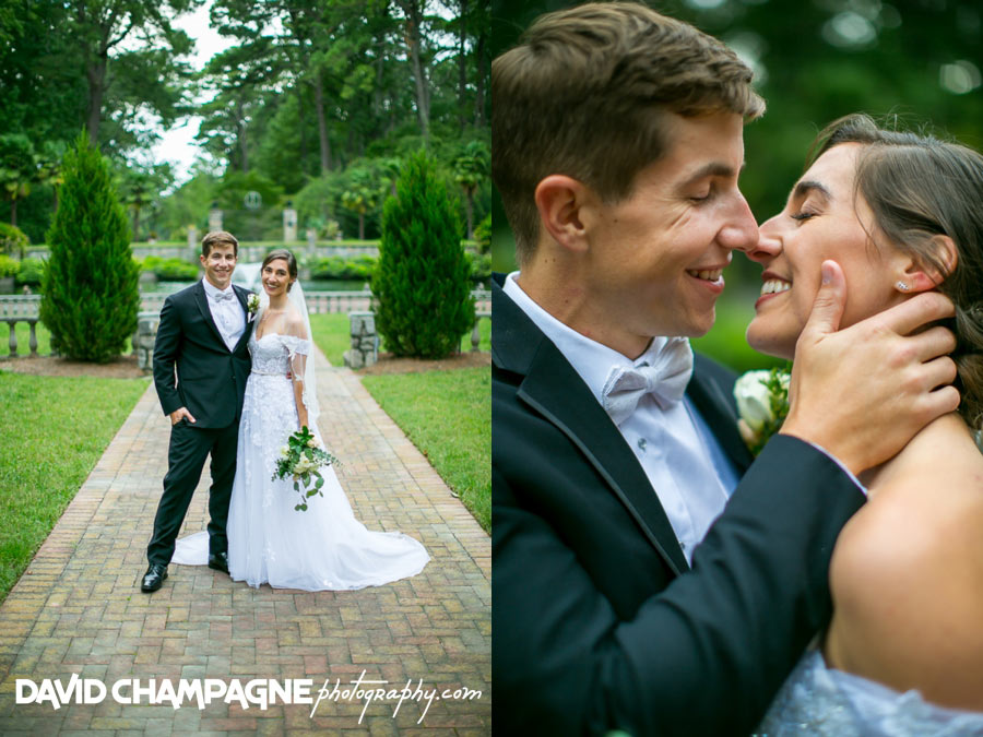 Norfolk Botanical Garden wedding
