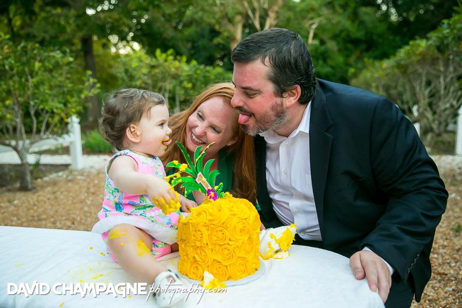 Virginia Beach cake smash photos