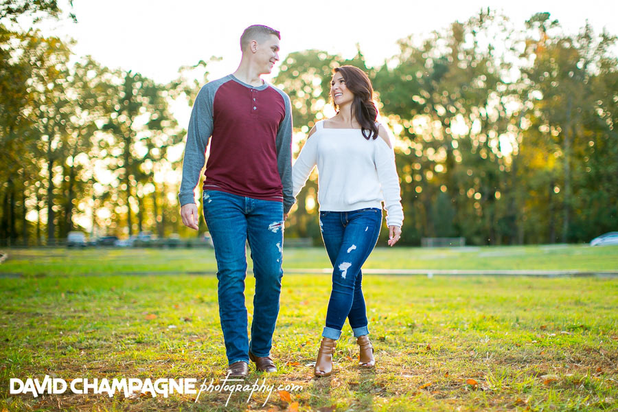 Williamsburg Virginia engagement photos