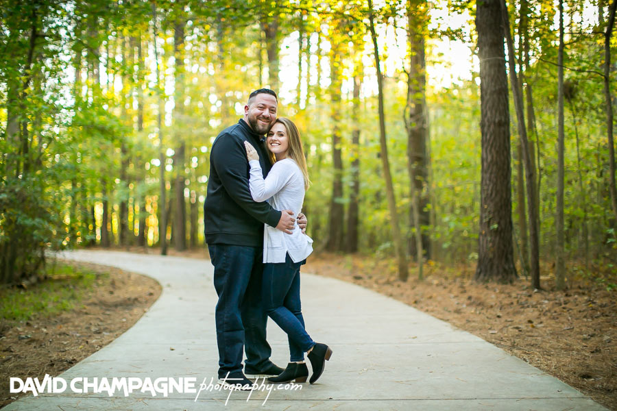 chesapeake oak grove park engagement