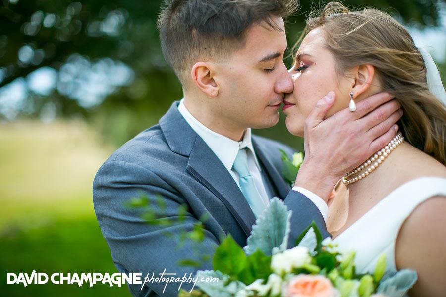 Virginia Beach shifting sands wedding