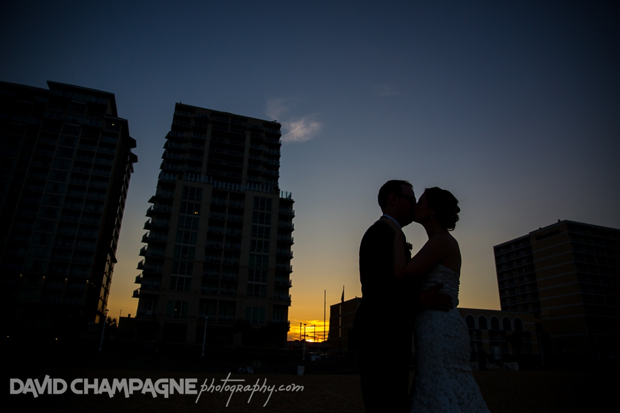 Virginia Beach Hilton Garden Inn wedding